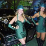 The Green Hornet ladies