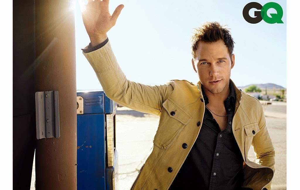 Chris Pratt in GQ Magazine, June 2015