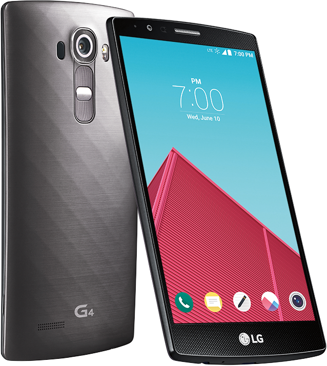 The LG G4 is sleek, smooth and sexy.
